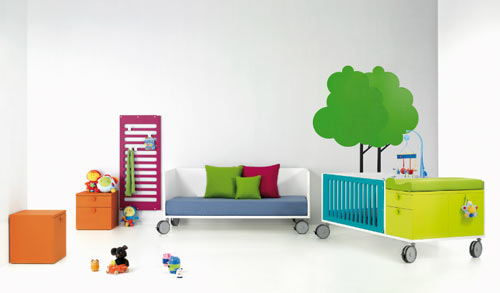красиви, модерни, изчистени, модели мебели за детска стая