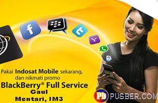 Paket Blackberry Indosat Gaul