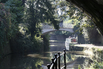 Kennet & Avon Canal at Sydney Gardens, Bath