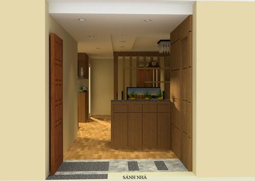 Sảnh nhà chung cư