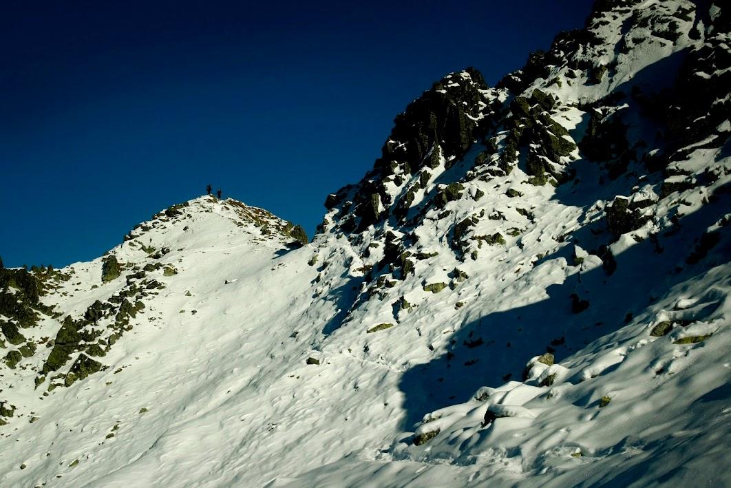 Podejście na Zadni Granat