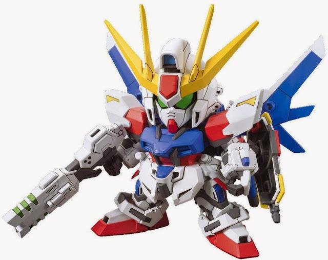 Lắp ghép Build Strike Gundam Full Package BB-388 SD Gundam không tỷ lệ, cao khoảng 8 cm