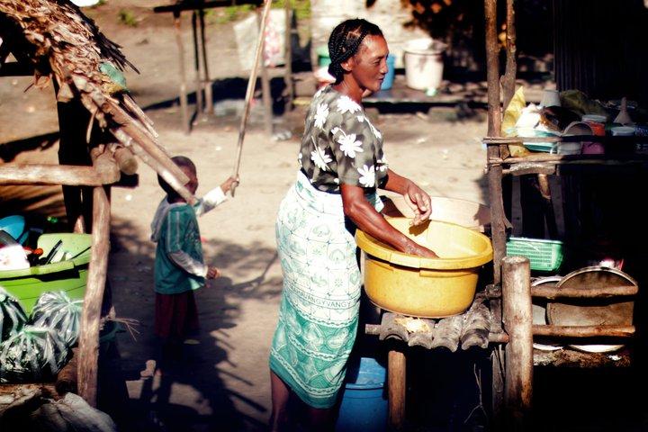 Вода на Мадагаскаре / Boire à Madagascar
