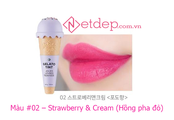 Son The Face Shop Gelato Tint Strawberry & Cream