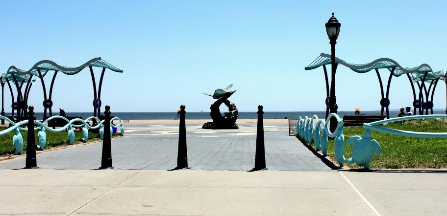 Turtle Display Midland Beach Staten Island
