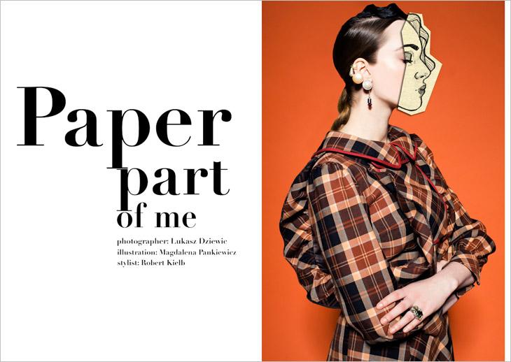 *復古時空穿梭真假趣味攝影:Hunger TV.雜誌本期主題Paper Part of Me! 3