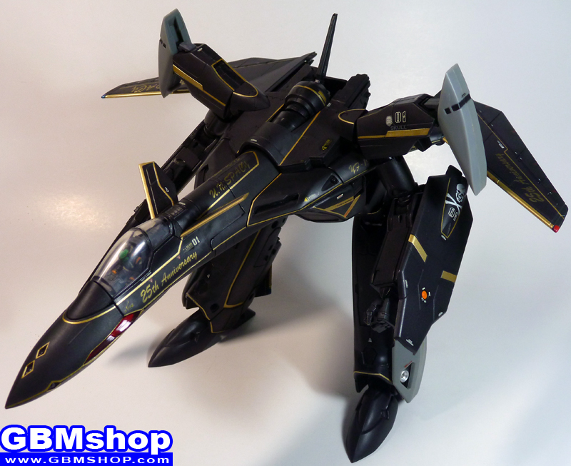 Macross VF-X VF-19A Super Black Excalibur GERWALK Mode