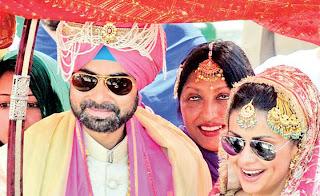 Rishi Attari weds Gul Panag Bollywood Actress