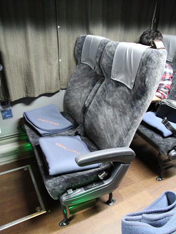 名鉄バス「名古屋新宿線」Sクラスシート車 2253 レギュラーシート