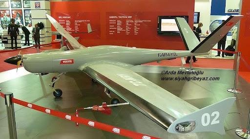 تحديث الطائرة دون طيار Karayel Vestel%252520Karayel