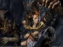 3 ares gow3 Kratos Revenge Wallpaper