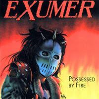 Exumer - Possessed By Fire recenzja okładka review cover