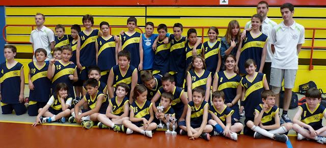 El Club en el II Torneo Escobasket 2013