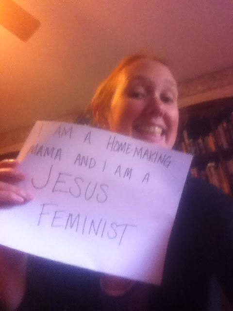 In Which I Am a Jesus Feminist, Too