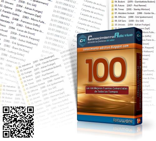 Las 100 mejores Fuentes Comerciales