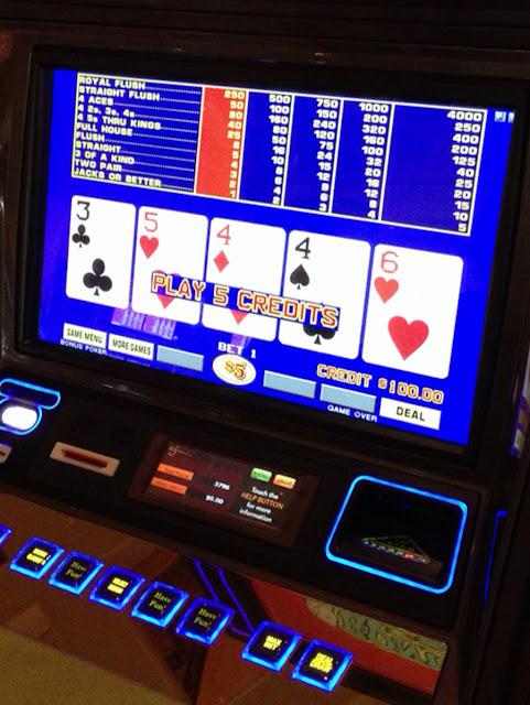 High Limit Video Poker at Wynn