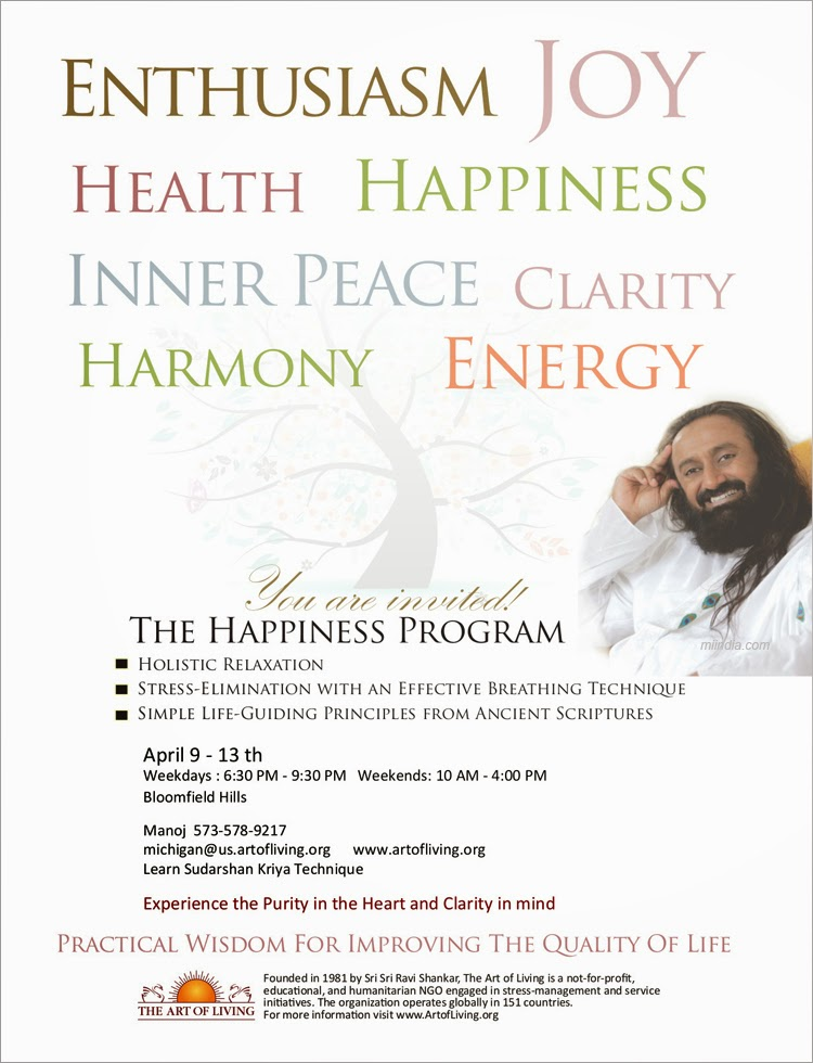 art of living the happiness program