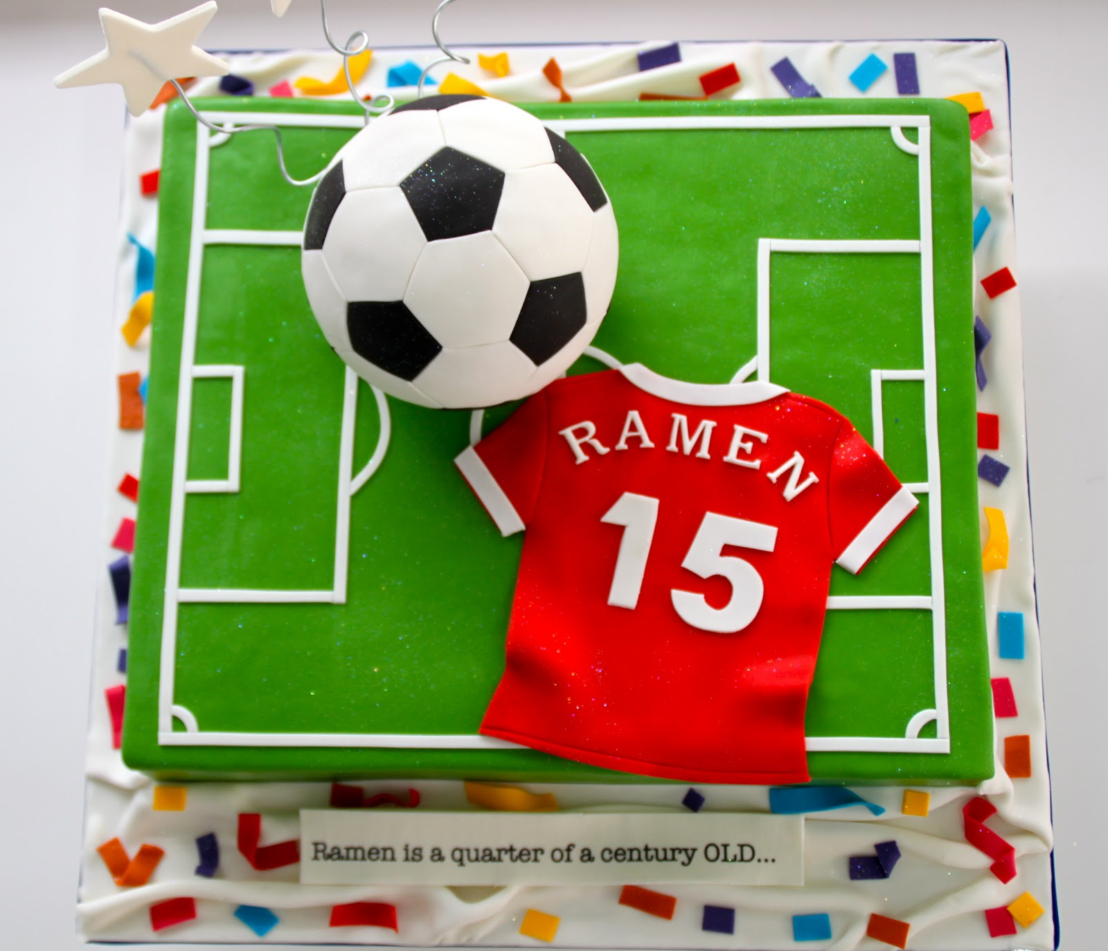Soccer Cake: Celebrate With Cake!: March 2011
