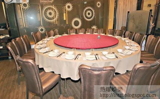 古天樂位於銅鑼灣的餐廳環境優雅。