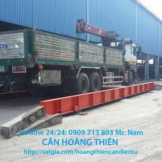 Trạm cân xe tải CAS 120 tấn