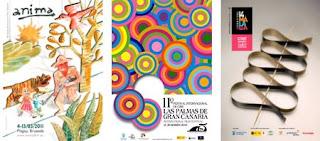 festivales de Bruselas, Las Palmas y Málaga