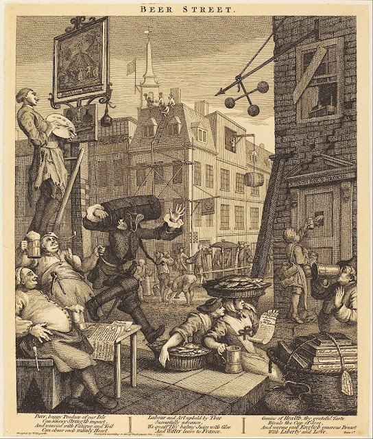 William Hogarth - Beer Street