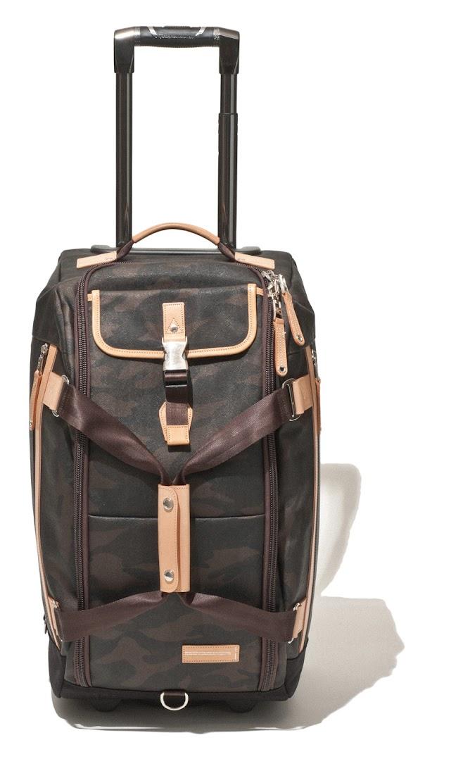 *master-piece HAZE機能旅行包系列:低調深色迷彩紋展現高度質感! 3