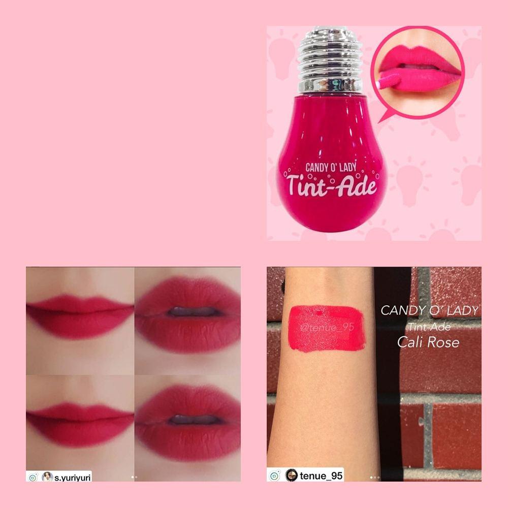 Son bóng đèn Candy O' Lady Tint-Ade Cali Rose