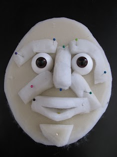 Initial foam structure of face