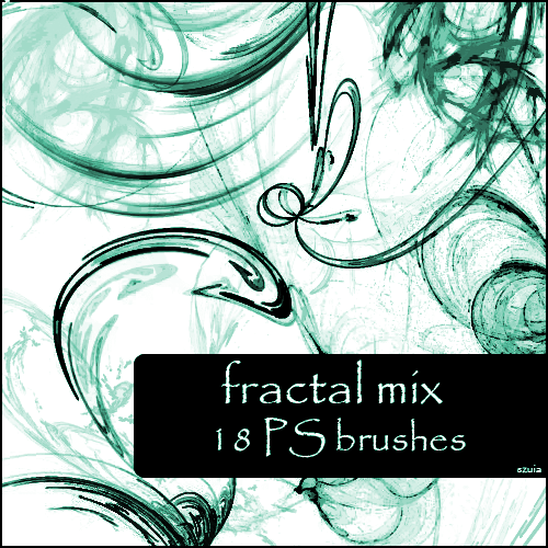 fractal mix brushes, de szuia