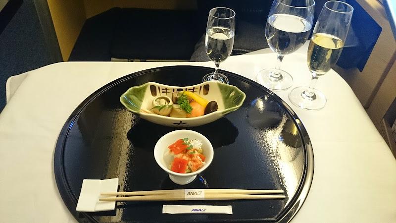 DSC 0928 - REVIEW - ANA : First Class - Tokyo Narita to London (B77W)