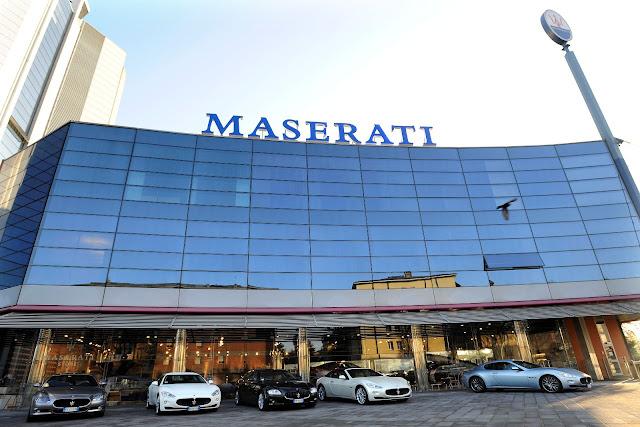 Maserati Museum in Modena, Italy