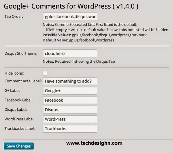 wordpress comment box