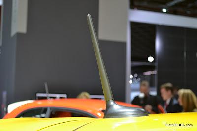 Standard Fiat 500 antenna
