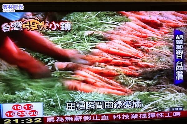 東勢- 暢銷海外的雲林高品質紅蘿蔔 TVBS專訪