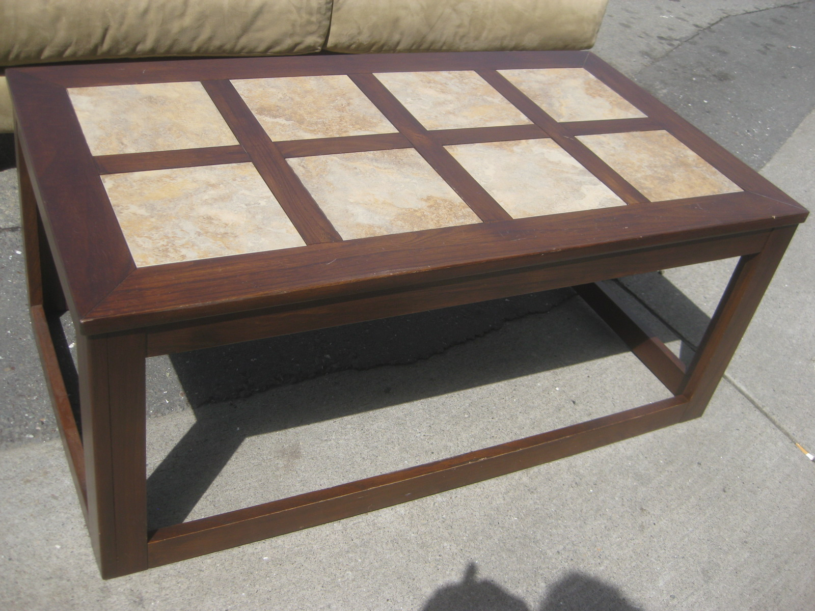 UHURU FURNITURE & COLLECTIBLES SOLD Tile top Coffee Table $20