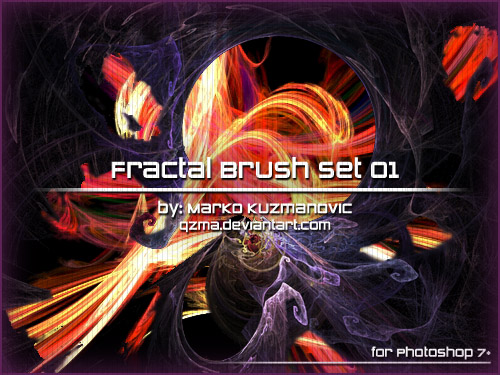 Fractal Brush Set 01, de Qzma