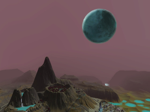 Extraña Luna de Lunar Lakes Screenshot-20