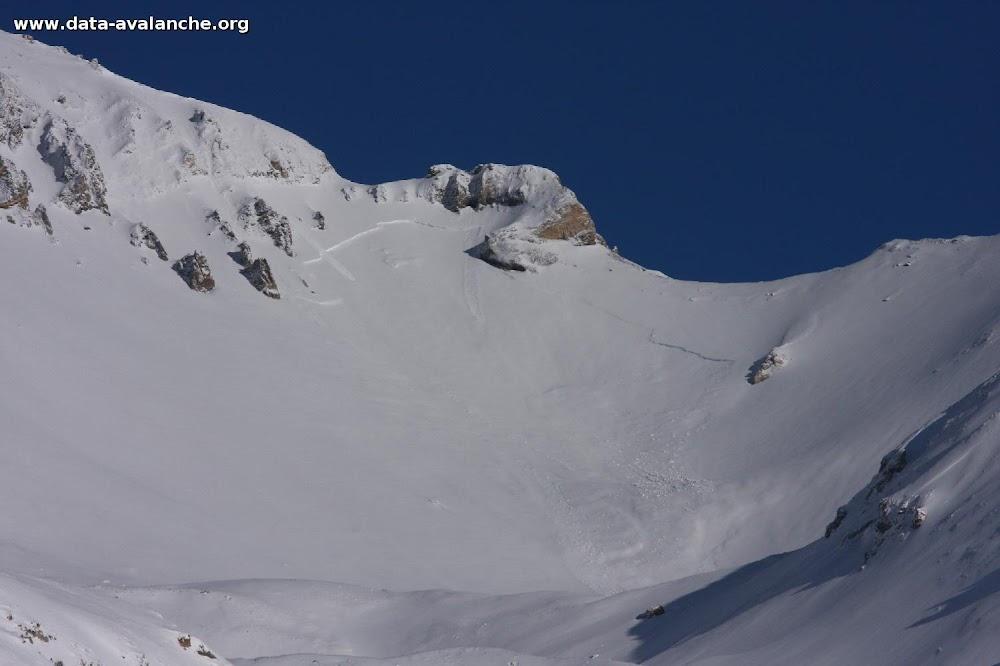 Avalanche Vanoise, secteur Dent Parrachée, Accès au Col des hauts - Photo 1