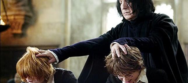 ความบาดหมางระหว่างแฮร์รี่และสเนป