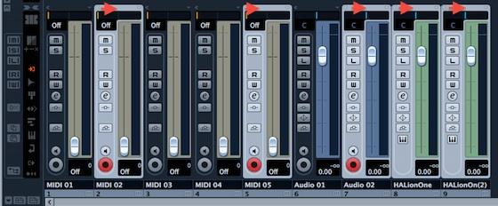 cubase-mixer