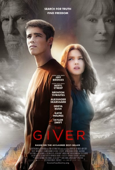 Poster Of English Movie The Giver (2014) Free Download Full New Hollywood Movie Watch Online At Alldownloads4u.Com