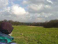 A March morning near Prestbury