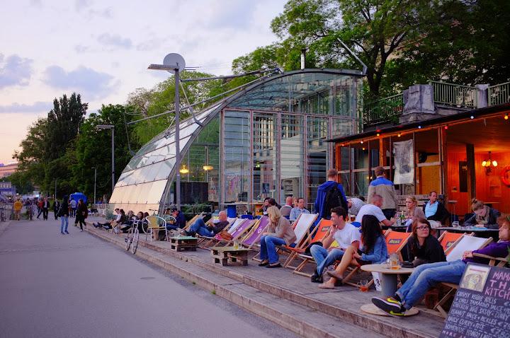 restaurantes en el danubio