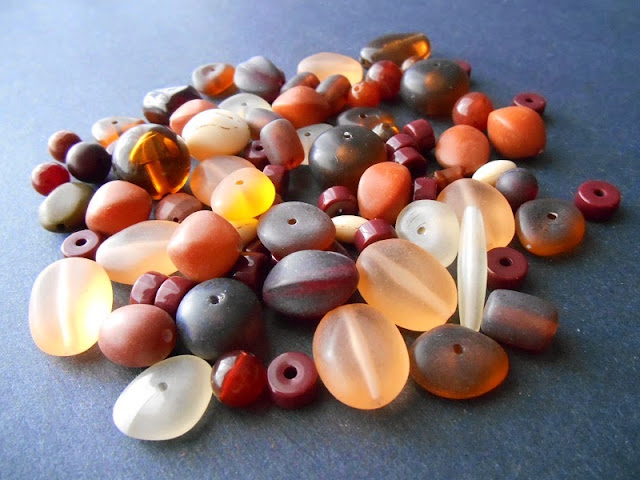 Fall Treasures Vintage Bead Giveaway