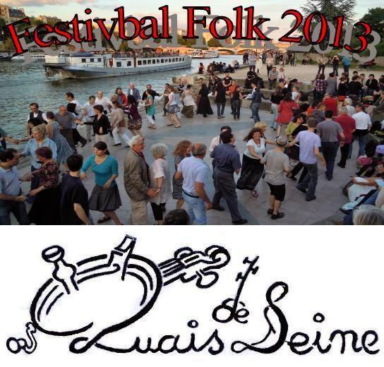 Affiche Festival Festivbal folk 2013 à Paris
