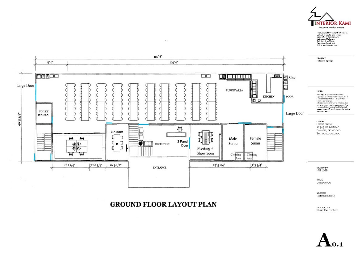 beranang  semenyih factory office and canteen design and build