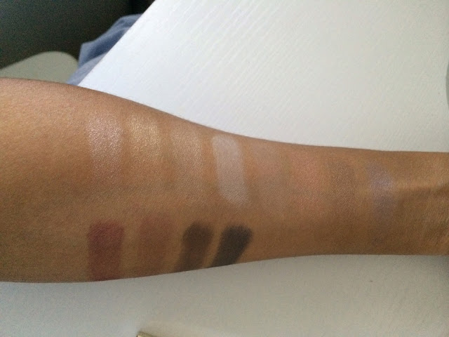 Brush Swatches: No primer