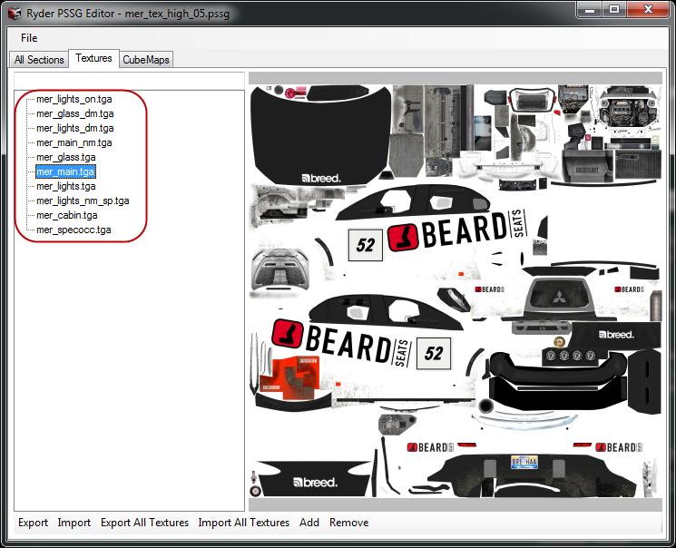 การเพิ่มลายรถใหม่ลงไปใน DiRT 3 และการทำภาพ Tiles ของรถ Newcar04