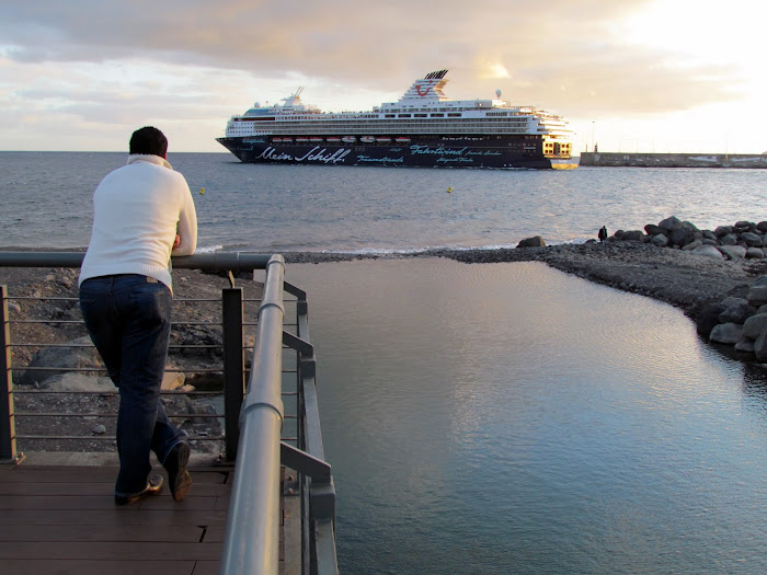 see the beauty of a cruise ship